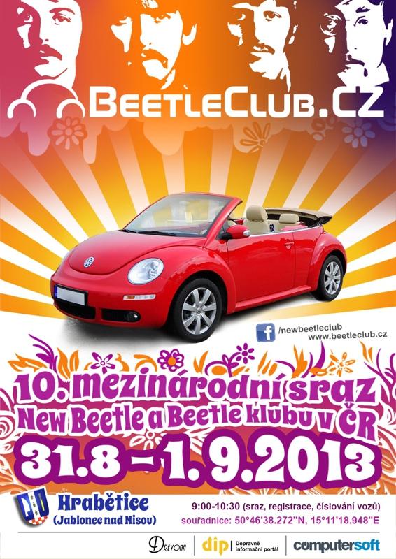 10. mezinárodní sraz New Beetle a Beetle klubu v ČR - Hrabětice (JN)