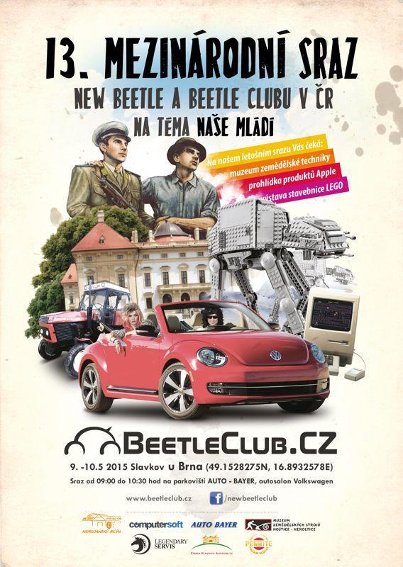 13. mezinárodní sraz New Beetle a Beetle klubu v ČR - Slavkov u Brna